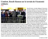 """Article paru dans le journal """"La Dépêche"""" le 10/11/2012"""