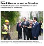 """Article paru dans le journal """"Sud Ouest"""" le 12/11/2012"""