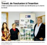 """Article paru dans le journal """"Sud Ouest"""" le 22/10/2012"""