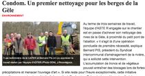 """Article paru dans le journal """"La Dépêche"""" le 25/02/2011"""