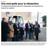 """Article paru dans le journal """"Sud Ouest"""" le 26/11/2011"""