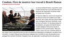 """Article paru dans le journal """"La dépêche"""" le 9/11/2012"""